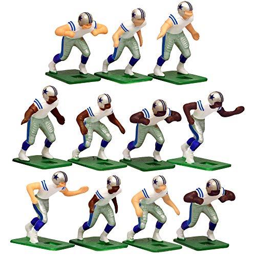Dallas CowboysWhite Uniform NFL Action Figure Set