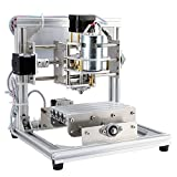 TopDirect CNC Fräsmaschine, Arbeitsbereich: 130*100*40mm, DIY CNC Router Maschine 3 Achsen Mini Holz PCB Acryl Fräsmaschine Metall Gravur Carving Maschine