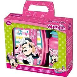 """'Joy Toy 759573jausen Box con borraccia """"Minnie 400ml"""