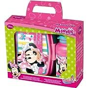 Minnie - Set Portamerenda + Borraccia