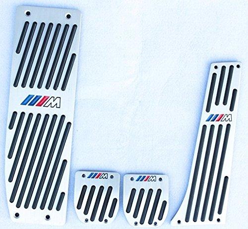 Preisvergleich Produktbild Wisamic Pedalauflagen Pedale Pads Bremse Fuß für BMW M1 M3 GT M5 M6 E30 E32 E34 E36 E38 E39 E46 E60 E61 E90 E92 E93