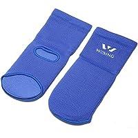wesing Ankle Brace Pie Guardia para artes marciales boxeo, Azul