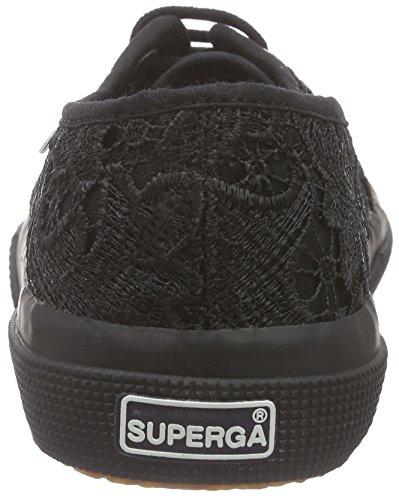 Superga 2750-Macramew, Scarpe da Ginnastica Donna Nero (996 Full Black)