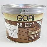 Gori 88 Compact Holz Lasur Sonderfarbton 8101 Weiss, 2,25Liter