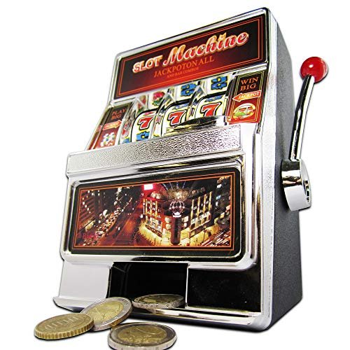 Monsterzeug Slot Machine Spardose - Einarmiger Bandit gebraucht kaufen  Wird an jeden Ort in Deutschland