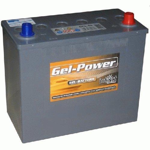 Preisvergleich Produktbild intAct GEL55,Batterie GelPower 12V 55Ah Versorgungsbatterie