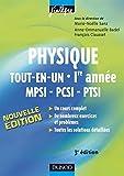 Image de Physique tout-en-un 1re année MPSI-PCSI-PTSI - 3e éd. : Cours, avec