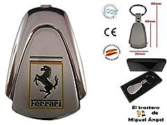 Idea Regalo - Portachiavi per auto con logo Ferrari