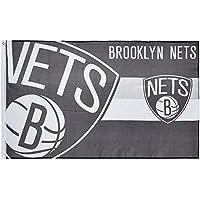 Forever Collectibles Flagge Brooklyn Nets, Mehrfarbig, FLG53UKNBHORNJN