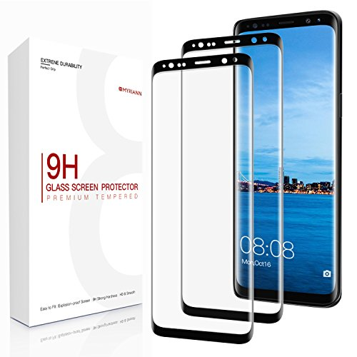 Vetro Temperato Galaxy S9, (2 Pack) Basstop HD vetro temperato protezione dello schermo con [9H Durezza] [Crystal Clear] [Installazione senza bolle ] [anti graffio] per Samsung Galaxy S9