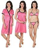 Fasense Women's Nightdress (DP100B2_Large_Coral Pink)