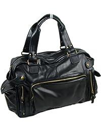 290d20aff824 Yzibei Large capacity Leather Handbag Shoulder Messenger Bag Men s Casual  Bag Business Travel Bag