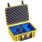 B&W Outdoor Case Type 1000/Y jaune avec GoPro 4 Inlay