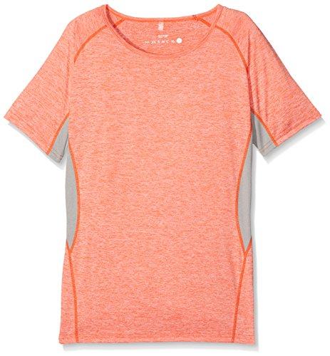 Result Damen Sport Top Grey (Grey Mist Marl/Orange Marl)