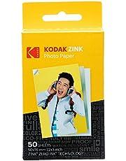 Kodak Zink Photo Paper (50 Sheets) Compatible with KODAK Smile and PRINTOMATIC (NOT with Kodak Mini Shot, Mini2)
