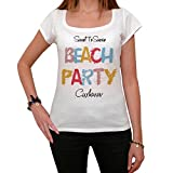 Cuxhaven Beach Party, damen t shirt, strandparty tshirt, tshirt geschenk