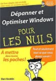 Dépanner et optimiser Windows XP...