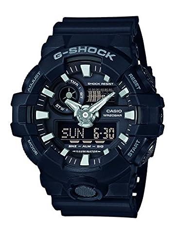 Casio G-Shock – Herren-Armbanduhr mit Analog/Digital-Display und Resin-Armband – GA-700-1BER