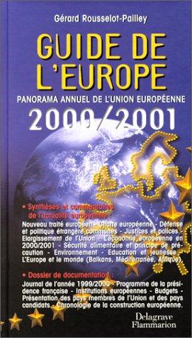Guide de l'europe 2001 par Gérard Rousselot