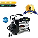 #4: CreativeVia Heavy Duty Metal Air Compressor Tyre Inflator Air Pump - 6 Months Replacement Warranty