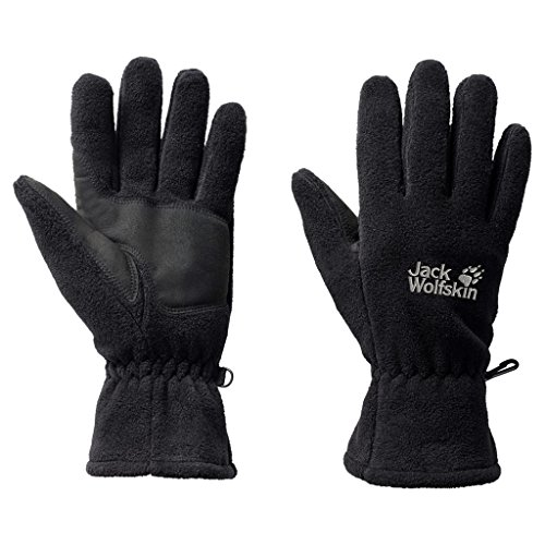 Jack Wolfskin Handschuhe Artist Glove, Black, S, (Schwarze Plus Size Handschuhe)