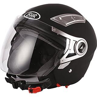 BHR Helm 709, Schwarz Matt, 59-60