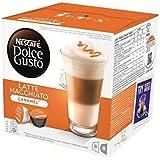Dolce Gusto latte macchiato caramel x16 168g - ( Prix Unitaire ) - Envoi Rapide Et Soignée
