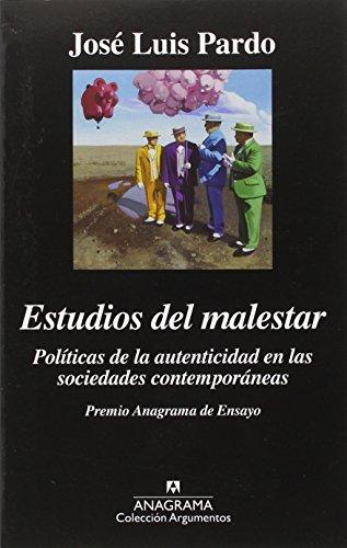 Estudios Del Malestar (Argumentos)