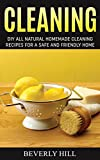CLEANING: DIY Natural Homemade Cleaning Recipes for a Safe and Friendly Home (: Cleaning, cleaning supplies, cleaning kit, cleaning tonic, eco-friendly, ... cleaning, eco-friendly products, cleanin)