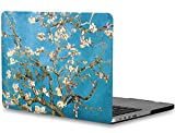 """Macbook Pro 13 Retina case(A1425/A1502),Topideal Artistic Design Rubberized Soft-Touch Frosted Hard Case Cover for MacBook Pro 13"""" with Retina Display without CD-ROM (2012-2015 Release) - Wintersweet"""