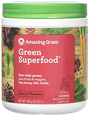 Amazing Grass Berry Green SuperFood Powder, 0.24 kg