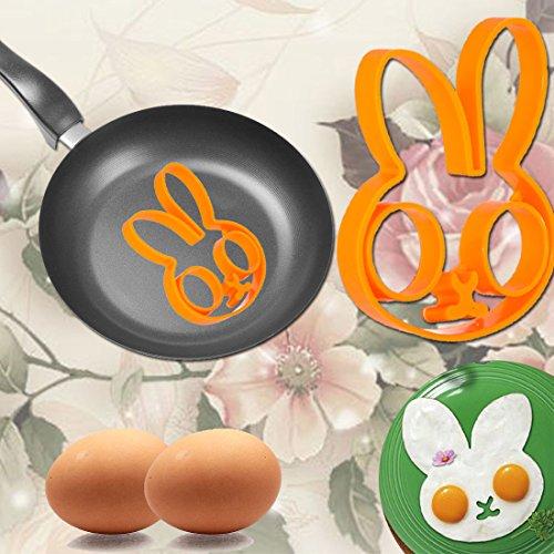 IDEA HIGH ÉToiles: Hot Fashion Petit Dã©Jeuner Lapin Amour Sourire éToiles Fried Egg Mold Pancake Anneau Shaper Outils de Cuisine Cuisine Gadgets Kid Cadeau