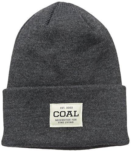 Coal Herren The Uniform Feinstrick Arbeitsmütze mit Bündchen - grau - Einheitsgröße - Custom Beanie Hüte