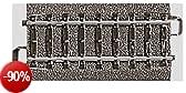 Märklin 24071 - Binario dritto, 70,8 mm, scartamento H0