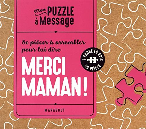 Puzzle merci maman par Collectif