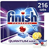 Finish Quantum tablettes lave-vaisselle Citron,