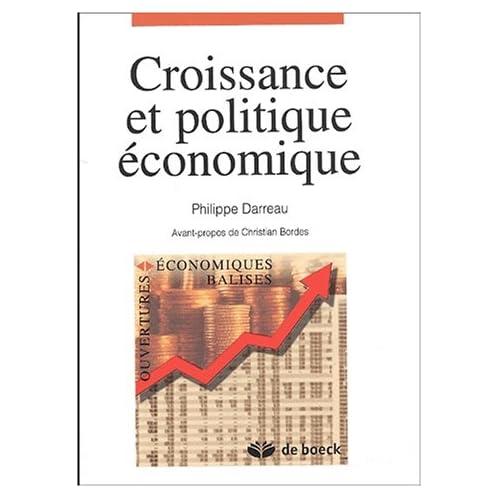 Croissance et politique économique
