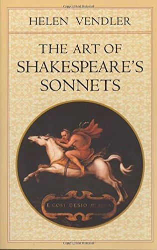 The Art of Shakespeare's Sonnets (Belknap)