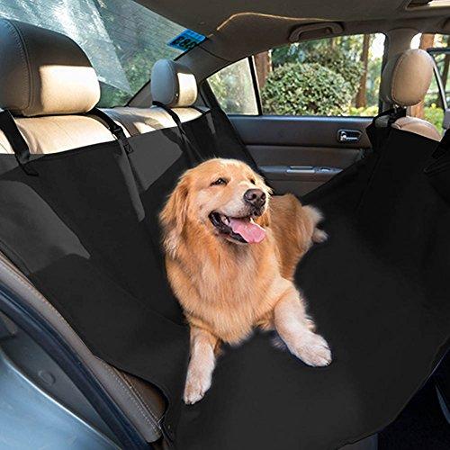 Hunde Autoschutzdecke/Autodecken Schondecken, Wasserdicht Hundedecke 146 x 125 cm Dick Wasserdicht Nonslip Maschinenwaschbar Hund Hängematte Autositz mit 2 Store Pocket Für Alle Pkw und SUV