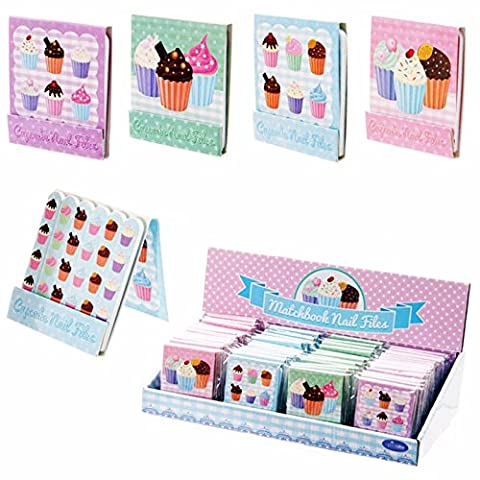 Mini Lauren Billingham Cute Cupcake Nail File Match Book Party