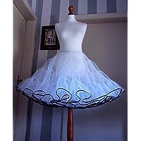 Maßgefertigt nach Ihren Wünschen / Petticoat 2-lagig Rockabilly / nach Maß