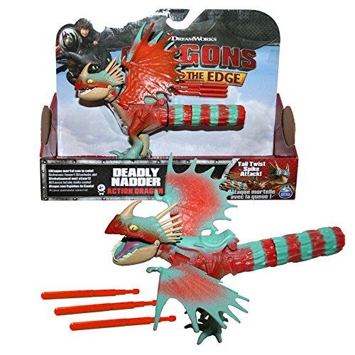 Dragons - Action Spiel Set - Drachen Sturmpfeil - Deadly Nadder Spike Attack
