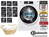 Bauknecht Waschmaschine 10Kg Zen Technologie 1400 U/min A+++ Frontlader