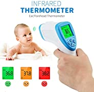 Digital LCD Non-contact IR Infrared Thermometer Forehead Body Surface Temperature Measurement Data Hold Functi