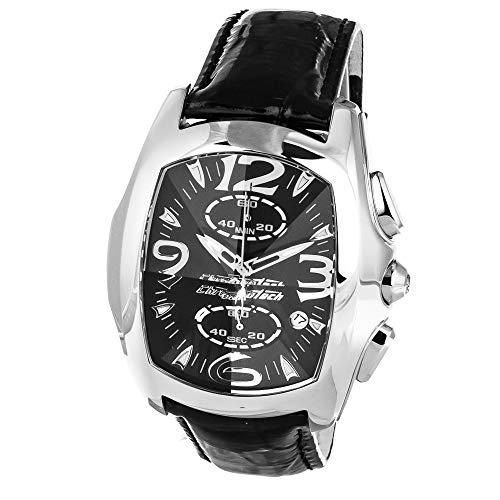 Chronotech orologio analogico quarzo uomo con cinturino in pelle ct7895m-92