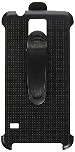MyBat Holster with Belt Clip for Samsung Galaxy S5 - Retail Packaging - Black