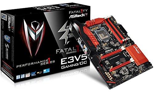 ASRock Fatal1ty E3V5 Performance Gaming/OC - motherboard (Larga 1151, 4X DDR4, 6X SATA3 6Gb/s, 2X PCIe 3.0 x16, 3X PCIe 3.0 x1, 6X USB 3.1 Gen1,