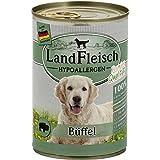 LandFleisch Hypoallergen Büffel | 12x 400g Hundenassfutter