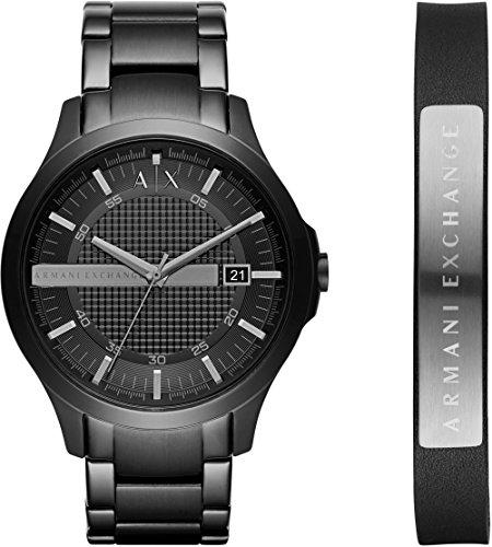 Mens Armani Exchange Gift Set Watch AX7101
