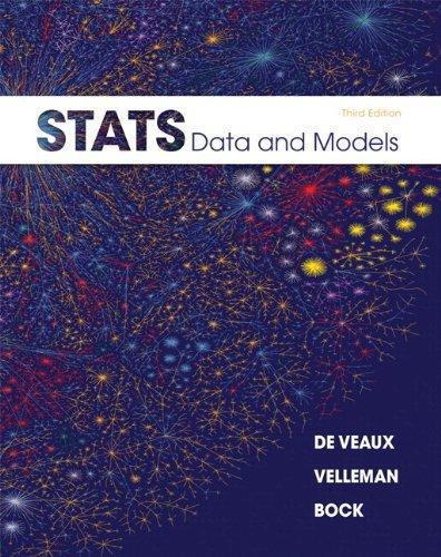 Stats: Data and Models Plus MyStatLab -- Access Card Package by Richard D. De Veaux (2012-08-22)